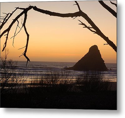 Sunset  Metal Print by Scott Gould