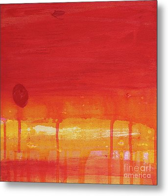 Sunset Series Untitled II Metal Print by Nickola McCoy-Snell
