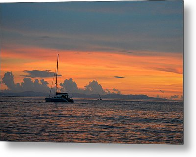 Sunset Metal Print by Shawna Gibson