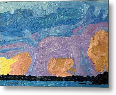 Sunset Showers Metal Print by Phil Chadwick