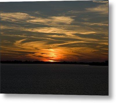 Sunset Sky Metal Print by Phil Stone