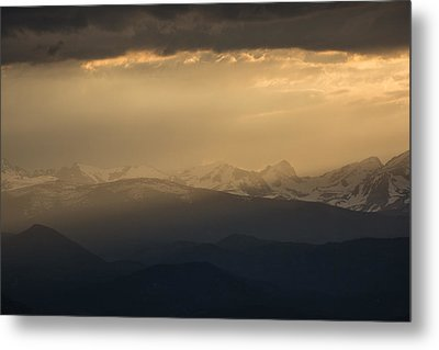 Metal Print featuring the photograph Sunset Softness by Colleen Coccia