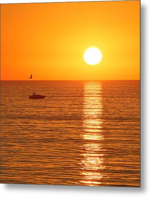 Sunset Solitude Metal Print