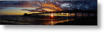 Metal Print featuring the photograph Sunset  by Thanh Thuy Nguyen