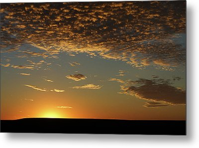 Metal Print featuring the photograph Sunset by Thomas Bomstad