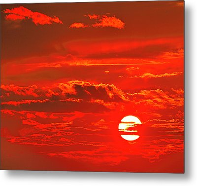 Sunset Metal Print by Tony Beck