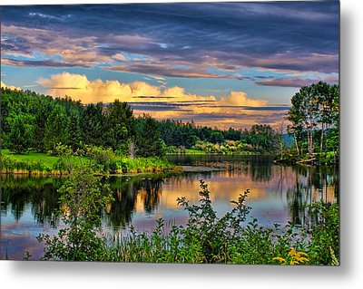 Metal Print featuring the photograph Sunset View by Gary Smith
