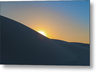 Sunset - White Sands Metal Print by Joseph Smith