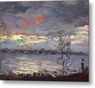Sunset Metal Print by Ylli Haruni