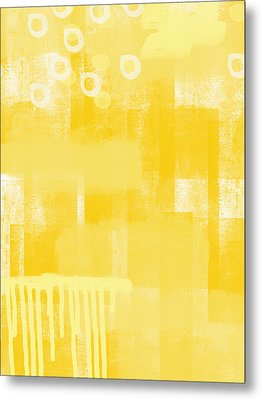 Sunshine- Abstract Art Metal Print