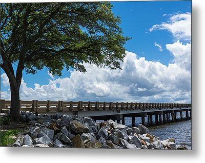 Sunshine And Clouds Metal Print