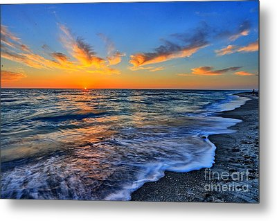 Metal Print featuring the photograph Sunshine Skies by Scott Mahon