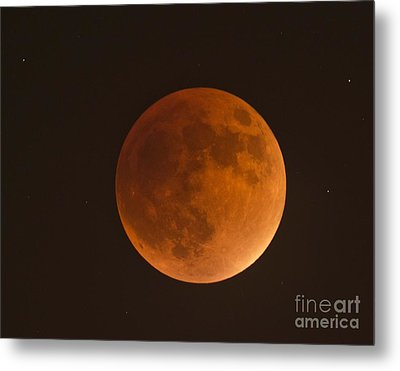 Super Blood Moon Metal Print
