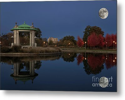 Super Moon Metal Print by Andrea Silies