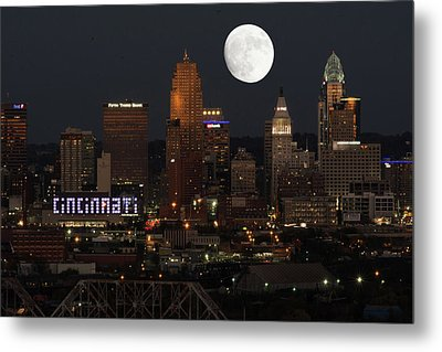 Super Moon Cincinnati 2016 Metal Print