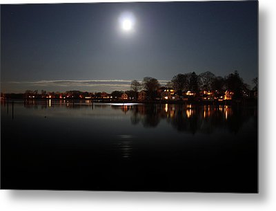 Super Moon  Metal Print by Mark Ashkenazi