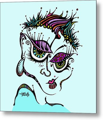 Superfly Metal Print by Tanielle Childers