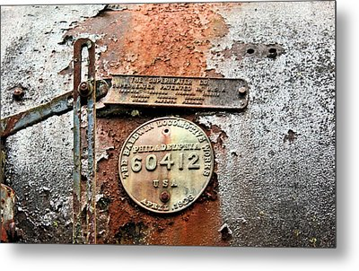 Metal Print featuring the photograph Superheater by Kristin Elmquist