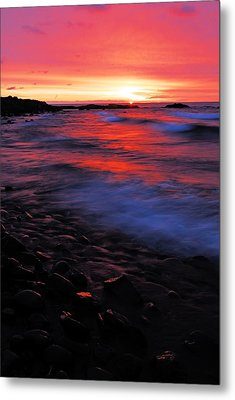 Superior Sunrise Metal Print by Larry Ricker