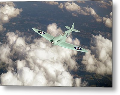 Metal Print featuring the photograph Supermarine Spitfire Prototype K5054 by Gary Eason
