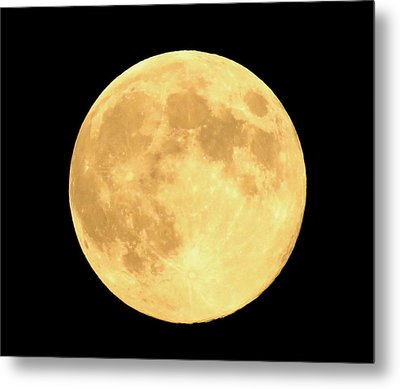 Supermoon Full Moon Metal Print by Kyle West