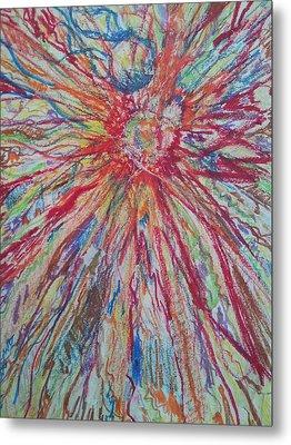 Supernova Apocalypse Metal Print