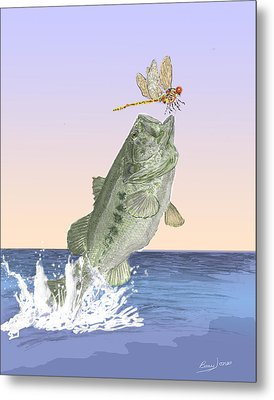 Supper Time Metal Print by Barry Jones