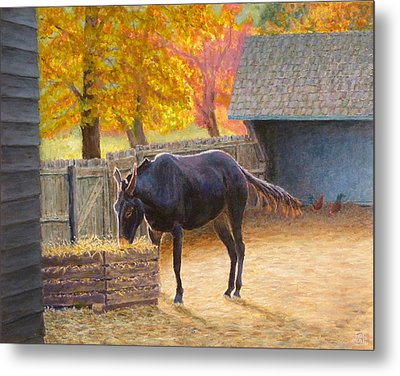 Supper Time Metal Print
