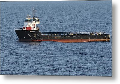 Metal Print featuring the photograph Supply Vessel Claire Candies by Bradford Martin