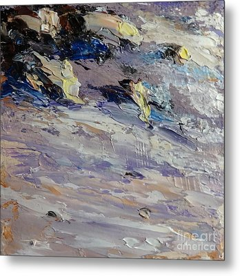 Surf And Sand Metal Print by Fred Wilson