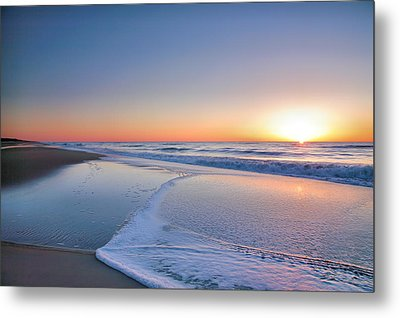 Surf And Sand IIi Metal Print by Steven Ainsworth