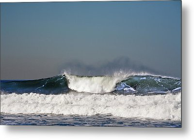 Ocean Beach Surf Metal Print by Daniel Furon