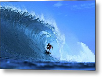 Metal Print featuring the photograph Surfer Boy by Movie Poster Prints