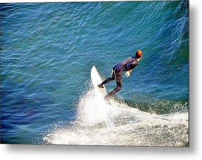 Surfer, Steamer Lane, Santa Cruz, Series 19 Metal Print by Antonia Citrino