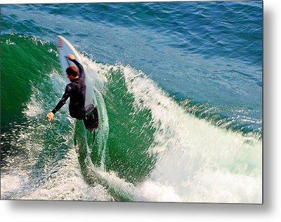Surfer, Steamer Lane, Series 18 Metal Print by Antonia Citrino