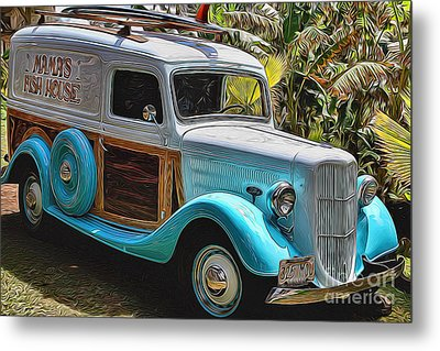 Surfin Safari Metal Print by Mary Lou Chmura