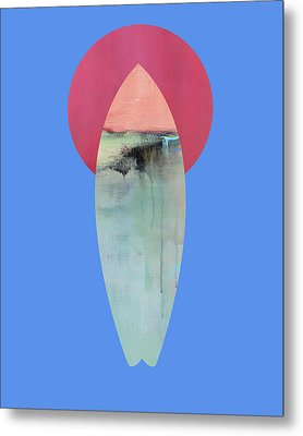 Surfing Print Metal Print by Jacquie Gouveia