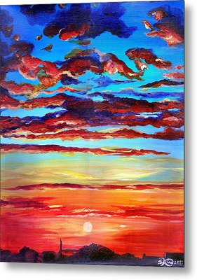 Surprise Ending Metal Print by Suzanne King