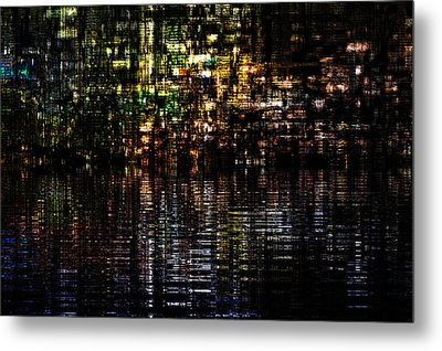Surreal Evening Metal Print