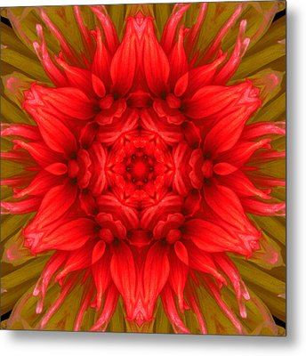 Surreal Flower No.6 Metal Print