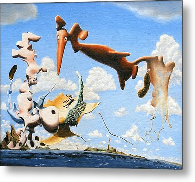 Surreal Friends Metal Print by Dave Martsolf