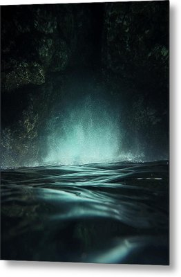 Surreal Sea Metal Print