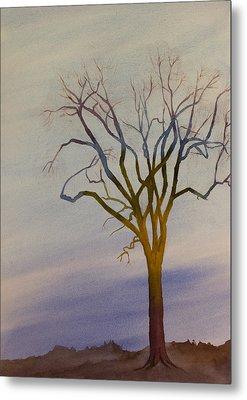 Surreal Tree No. 1 Metal Print by Debbie Homewood