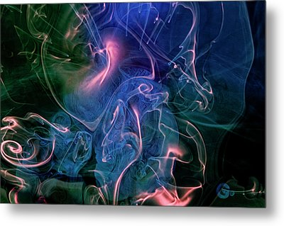 Metal Print featuring the photograph Surreal Waters V3 by Rico Besserdich