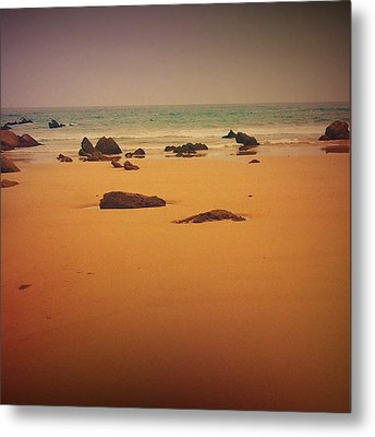 Surrealistic Beach Metal Print by Contemporary Art