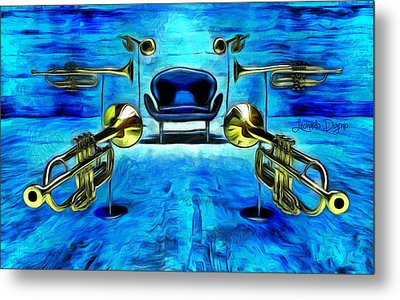 Surround Sound Metal Print