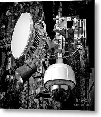 Surveillance Metal Print by Olivier Le Queinec
