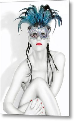 Survivor - Self Portrait Metal Print by Jaeda DeWalt