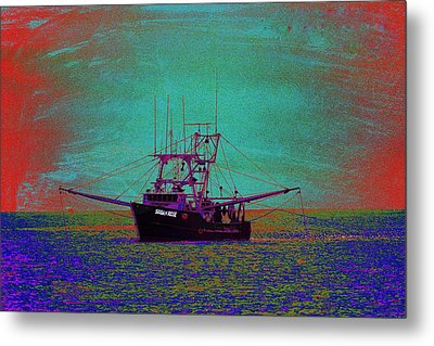 Susan Rose Metal Print by Richard Henne