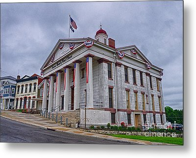 Sussex County Courthouse Metal Print by Mark Miller